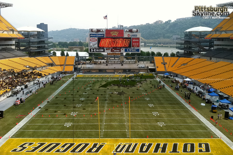 Heinz Field as Gotham Rogues Stadium