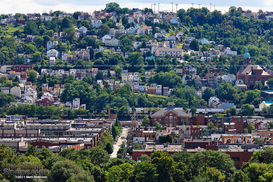 The South Side Slopes of Pittsburgh - PittsburghSkyline.com - Original ...