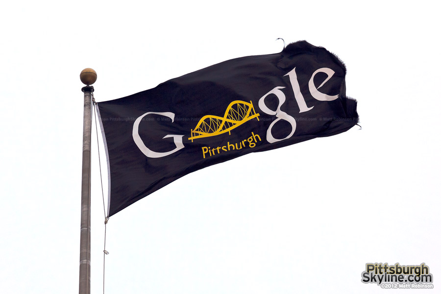 Google's Pittsburgh Flag