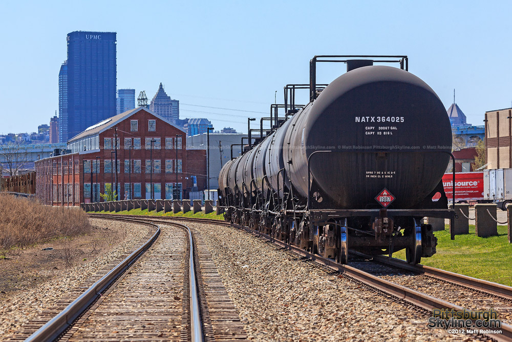 Railroad tankers