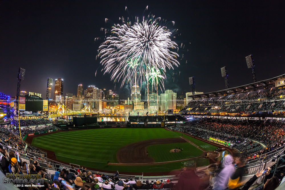 Fireworks night at PNC Park