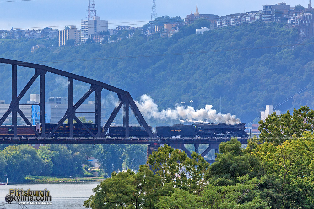 765 Crosses the OC Bridge from McKees Rocks