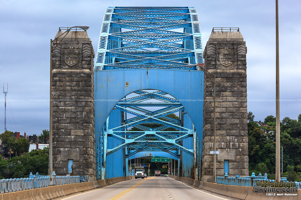 Mckees Rocks Bridge - Head On View