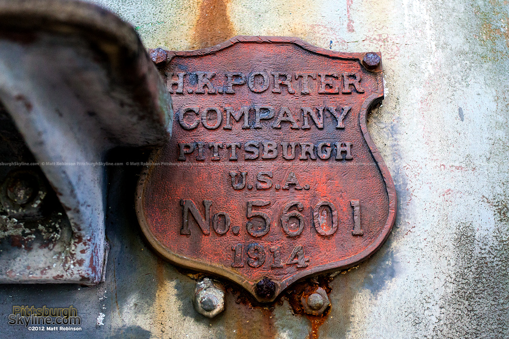 H.K. Porter Pittsburgh Steam Locomotive Emblem