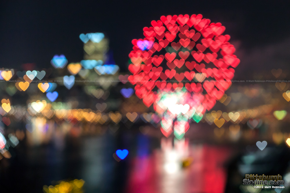 Heart Pittsburgh Skyline