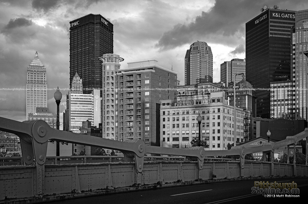 Black and White Pittsburgh