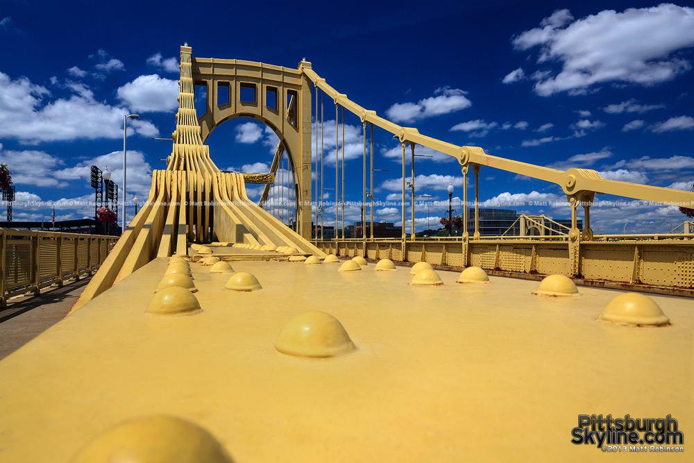 Bright Yellow Roberto Clemente Bridge