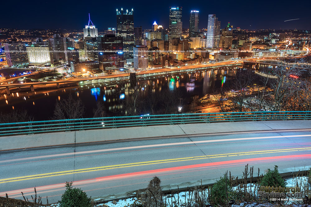 Downtown Pittsburgh Skyline with PJ McArdle