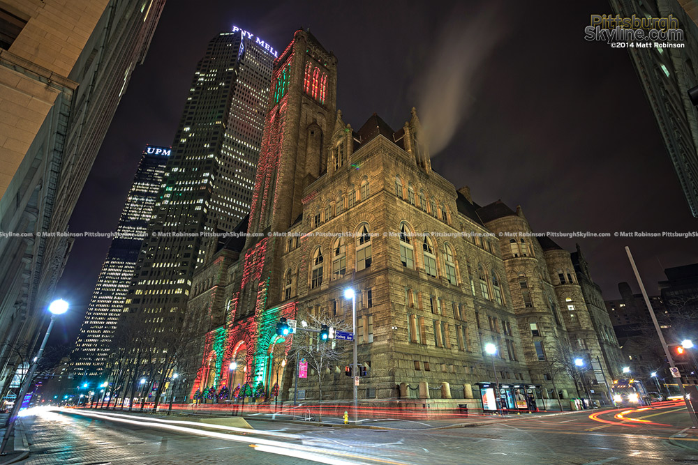 Allegheny County Courthouse at Christmas