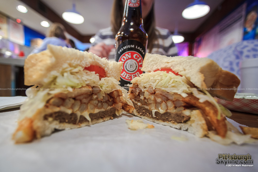 Primanti's Cheesesteak and Iron City - Pittsburgh Classics