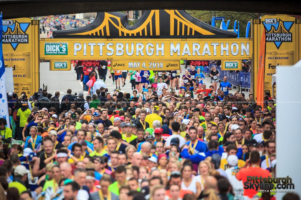 2014 Pittsburgh Marathon Finishers