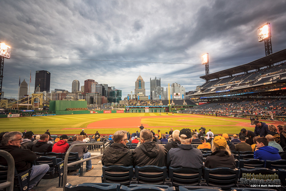 Early season Pirates baseball at PNC Park