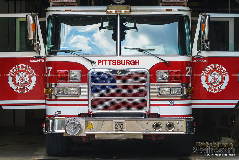 Pittsburgh Firetruck