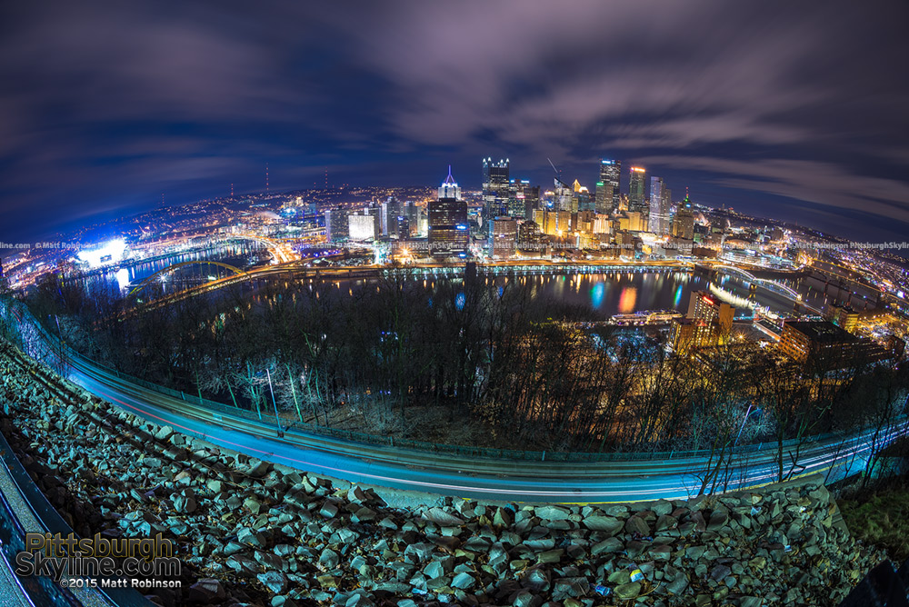 Fisheye from Mt. Washington