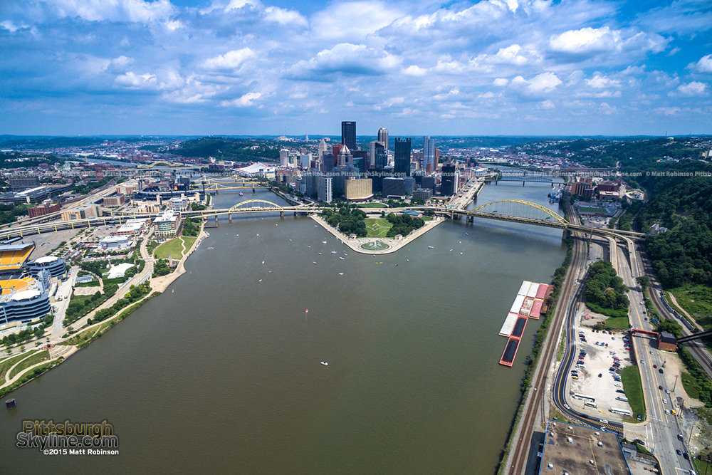 Golden Triangle Aerial image