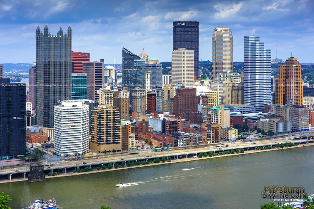 Pittsburgh Skyline 2015