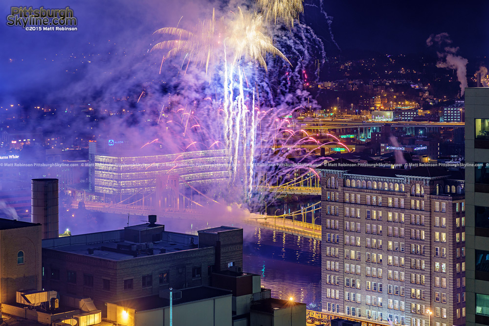 Finale Fireworks on Light Up Night Pittsburgh