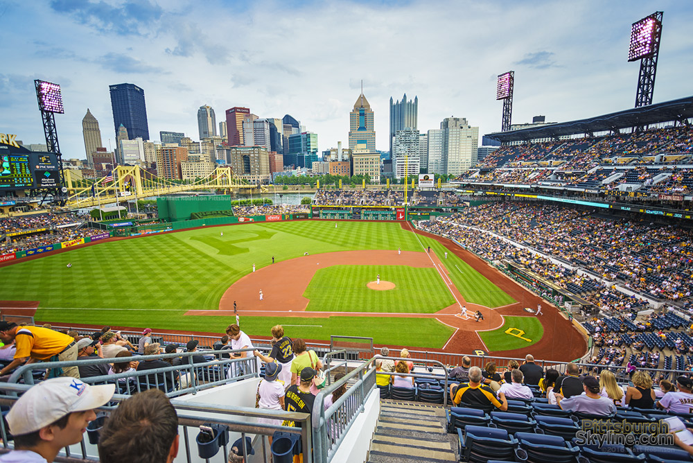PNC Park with Skyline