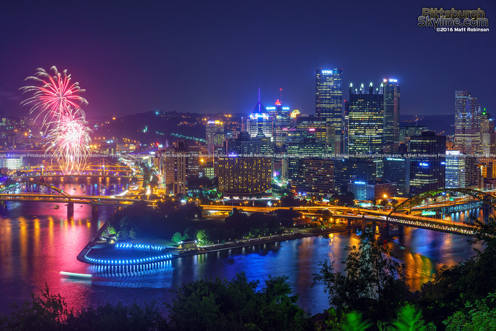 Pittsburgh skyline 2016