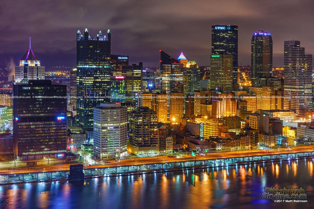 Pittsburgh Skyline from Mt. Washington 2017