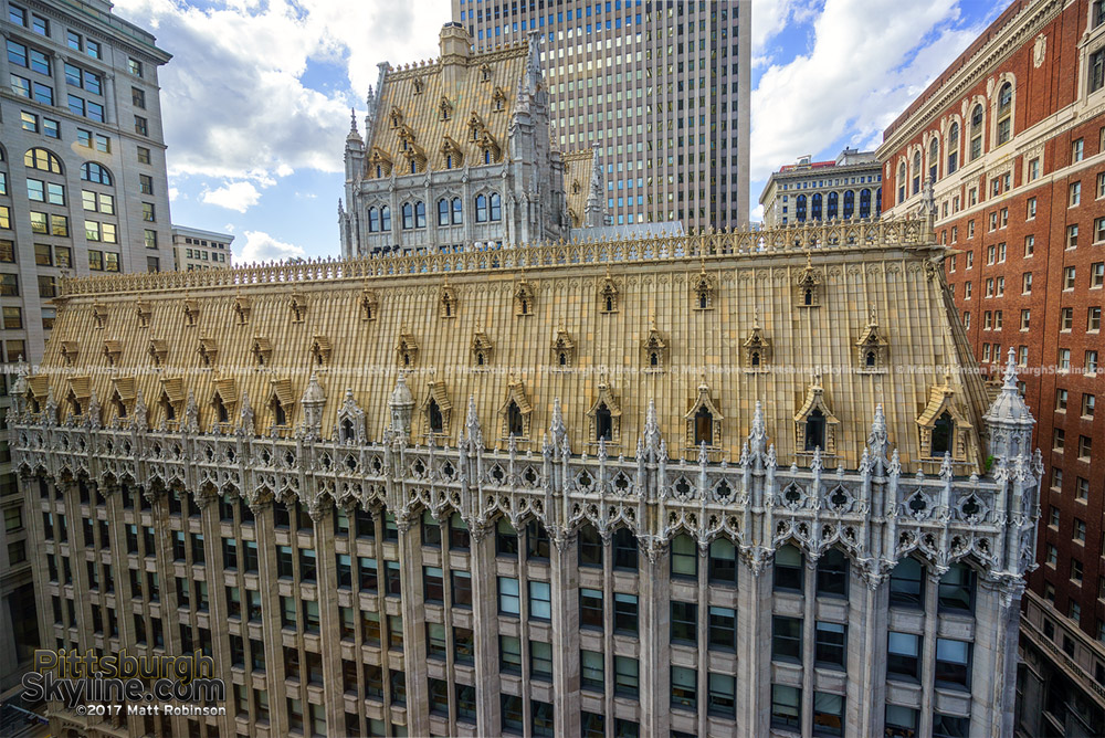 Union Trust Building from 12 floor BNY Mellon Center