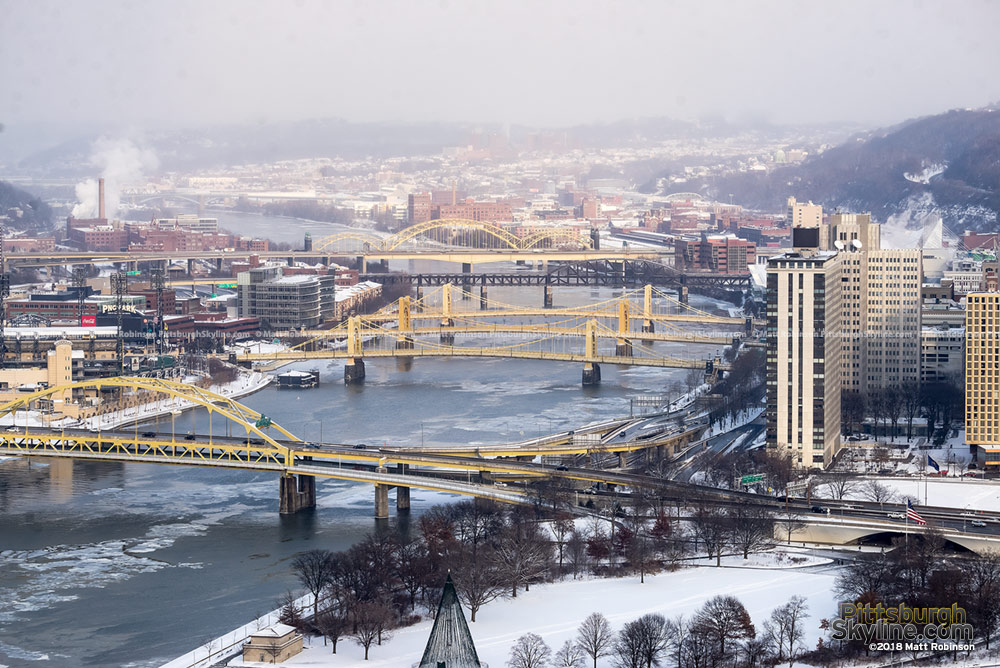 Icy Allegheny River