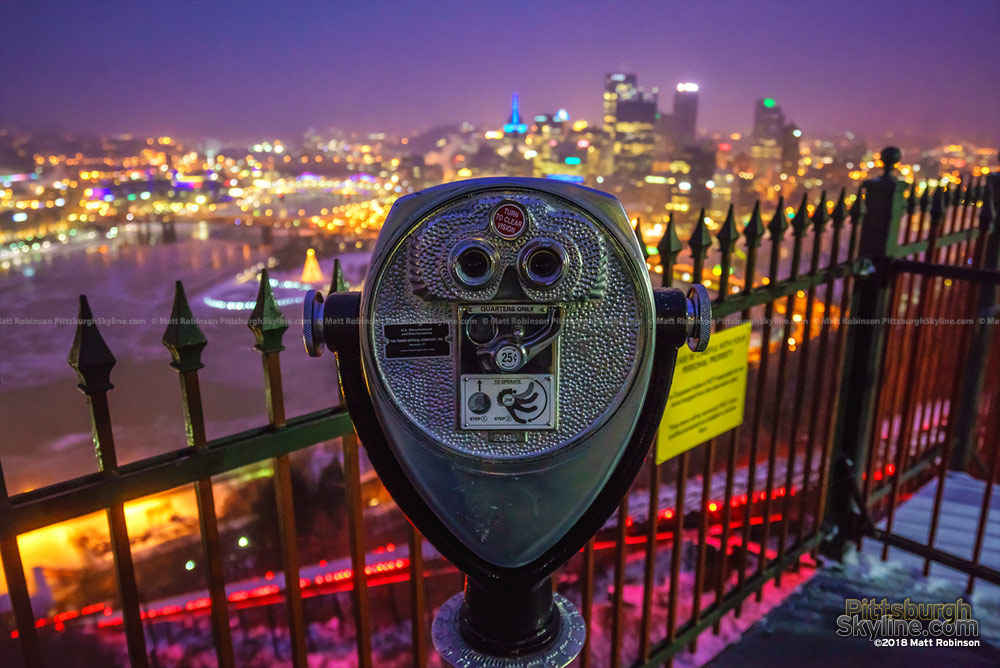 Viewfinder at the Duquense Incline