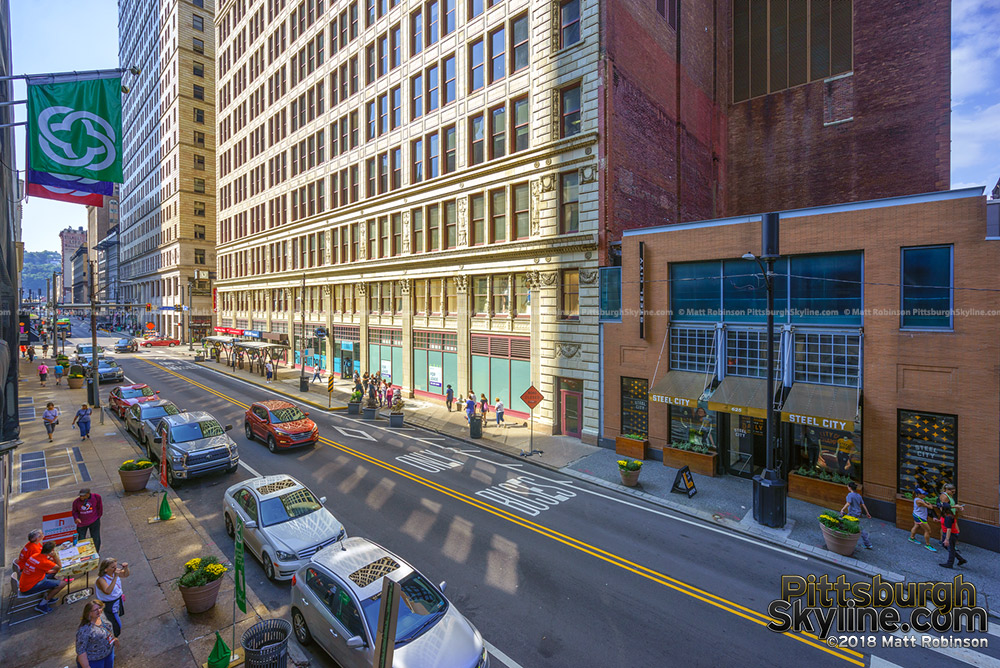 Smithfield Street in Downtown Pittsburgh
