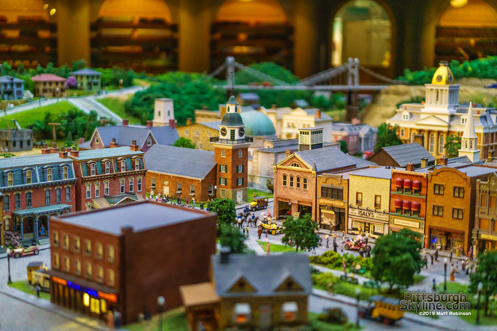 Miniature Pittsburgh at the Carnegie Science Center